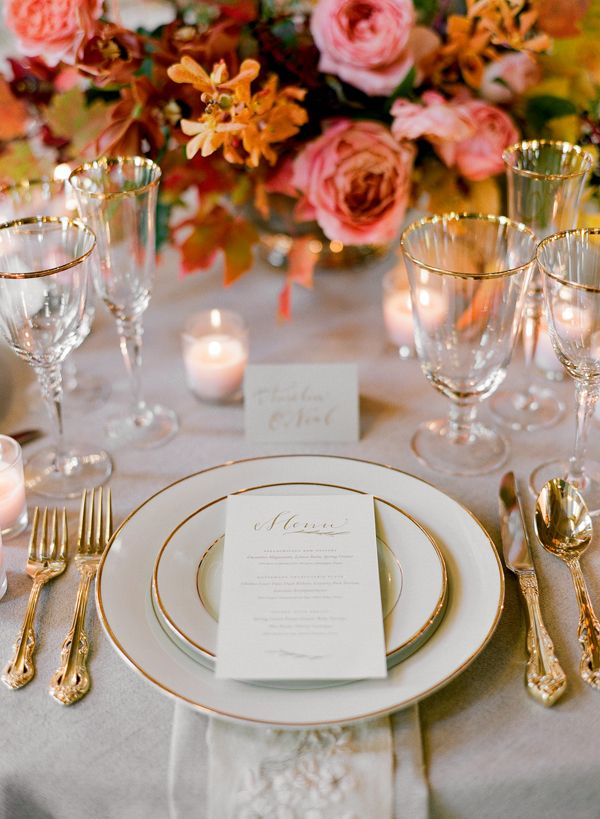 Inspiration Table Settings