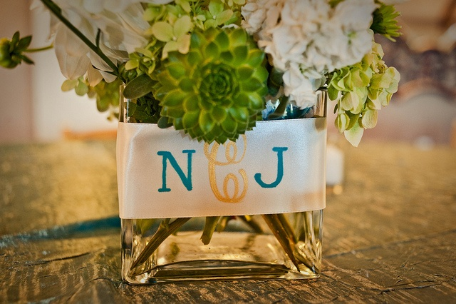 centerpiece monogram