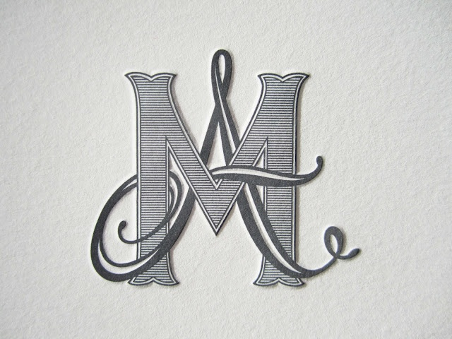overlapping monogram